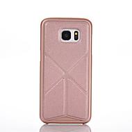Varten Samsung Galaxy kotelo Origami / Magneetti Etui Takakuori Etui Yksivärinen PC Samsung S6 edge plus / S6 edge / S6