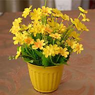 Tak Zijde Kunststof Madeliefjes Bloemen voor op tafel Kunstbloemen