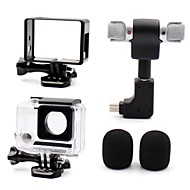 Gopro Accessories Smooth Frame / Protective Case / Microphone / Accessory Kit Mini Style / All in One / Convenient / Dust Proof, For-