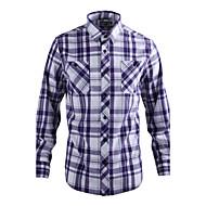 JamesEarl 男性 シャツカラー ロング シャツ&ブラウス レッド - DA112007518