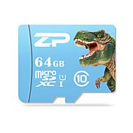 ZP 64GB Clase 10 / UHS-I U1 MicroSD/MicroSDHC/MicroSDXC/TFMax Read Speed80 (MB/S)Max Write Speed20 (MB/S)