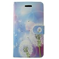 Mert Samsung Galaxy tok Kártyatartó / Pénztárca / Állvánnyal / Flip / Minta Case Teljes védelem Case Pitypang Műbőr SamsungS7 / S5 Mini /