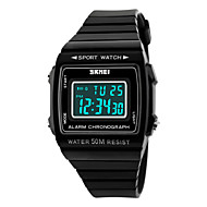 Skmei®Women's Multifunctional Digtal Sport Wrist Watch with PU Strap 30m Waterproof Cool Watches Unique Watches