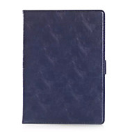 Smart Cover leather Case Outermost Layer Of Skin Grain Slim Cover For Apple ipad air 2 Business Cover Case