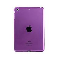 För Genomskinlig fodral Skal fodral Enfärgat Mjukt TPU för Apple iPad Mini 4 iPad Mini 3/2/1