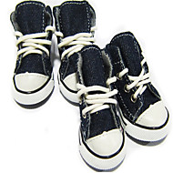 Koirien denim-kengät (XS-XL, värivalikoima)