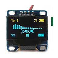 """0.96 """"cala żółty i niebieski IIC I2C seryjny OLED 128x64 LCD OLED Moduł LED dla Arduino wyświetlaczu 51 msp420 stim32 scr"""