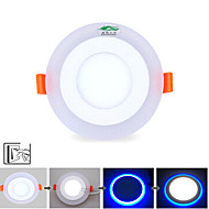 Zweihnder W446 LED  3W+3W 3Model LED Lamp Panel Light Double Color LED Ceiling Recessed Lights Indoor Lighting