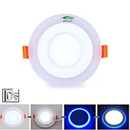 6W תאורת תקרה 10 SMD 2835 600 lm לבן טבעי / כחול עמעום / דקורטיבי AC 85-265 V חלק 1