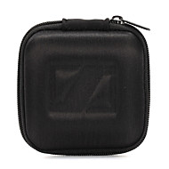 Classic Black EVA 1PC Headphone Earbud Carrying Storage Bag Pouch Hard Case For Earphone 8*8*4cm