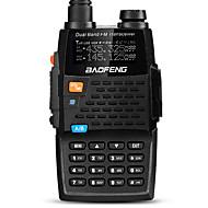 宝豊 ハンドヘルド / デジタル UV-5R 4TH FMラジオ / 音声プロンプト / デュアルバンド / デュアルディスプレイ / デュアルスタンバイ / LCDディスプレイ / CTCSS/CDCSS 1.5KM-3KM