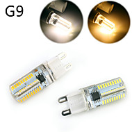 YWXLIGHT Dimmable G9/G4/E14/BA15D 5W 80 SMD 3014 500 LM Warm White / Cool White LED Corn Lights AC 220 / AC 110 V
