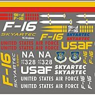 Général F16 Skyartec F16-09 Pièces & Accessoires RC Quadrirotor / RC Airplanes / Hélicoptères RC Rouge / Blanc / Jaune