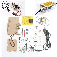 With Retail Box DIY Kit LM317 Adjustable Regulated Voltage Step-down Power Supply Suite Module Free Shipping