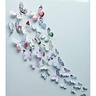 Tiere / Romantik / Mode / Blumen / Formen / 3D Wand-Sticker 3D Wand Sticker,pvc 15*15cm