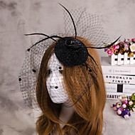 virág toll fátyol igéző kalap haj ékszerek lakodalom
