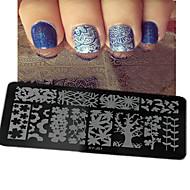 1pcs neue Nagel-Kunst-Platten-DIY Bildvorlagen Werkzeuge Nagelschönheit xy-j01-05