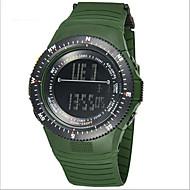 SYNOKE Muškarci Ručni satovi s mehanizmom za navijanje Šiljci za meso LCD Kalendar Kronograf Vodootpornost alarm Svjetleći Guma Grupa