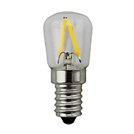 2W E14 LED Globe Bulbs S14 2 COB 200 lm Warm White Dimmable AC 220-240 V 1 pcs