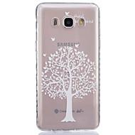 For Samsung Galaxy etui Transparent Etui Bagcover Etui Træ Blødt TPU forJ7 J5 (2016) J5 J3 J2 J1 (2016) J1 Ace J1 Grand Prime Core Prime
