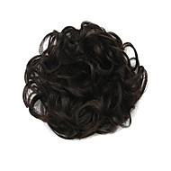 pruik zwarte 6cm hoge-temperatuur-wire haar cirkel kleur 2/33