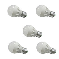 5pcs MORSEN® E27 3W 6xSMD5630 250LM LED Globe Bulbs