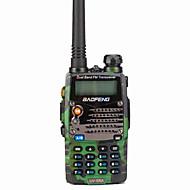 Baofeng Käsin pidettävä / Digitaalinen UV-5RAFM-radio / Äänikehote / Kaksoiskanava / Kaksoiskanavanäyttö / Kaksoisvalmiustila /