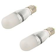 5W E26/E27 LED Λάμπες Σφαίρα T 28 SMD 2835 480 lm Θερμό Λευκό Διακοσμητικό AC 220-240 / AC 110-130 V 2 τμχ