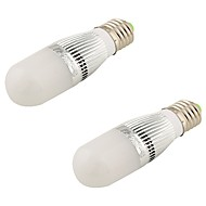 5W E26/E27 LED-bollampen T 28 SMD 2835 480 lm Warm wit Decoratief AC 220-240 / AC 110-130 V 2 stuks