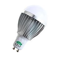 5W GU10 Bombillas LED de Globo A60(A19) 10 SMD 5730 480lumens lm Blanco Cálido / Blanco Natural Decorativa AC 85-265 V 1 pieza