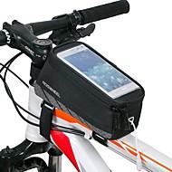 ROSWHEEL® 자전거 가방 1.5L자전거 프레임 백 방수 / 방수 지퍼 / 충격방지 / 착용할 수 있는 싸이클 가방 메쉬 / Terylene 싸이클 백 사이클링 18.5*8.5*6