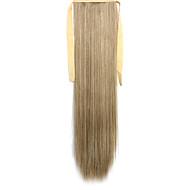 zöld egyenes keverési hosszú egyenes haj paróka Ponytails 27a / 613