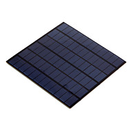 4.5W 18V PET Laminated Polycrystalline Silicon Solar Panel Solar Cell for DIY (SW4518)