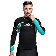 sbart® Herrn 2mm Neopren- Neoprenanzug Oberteil warm halten Videokompression Tactel Taucheranzug Tauchanzüge Bademode T-shirt Oberteile-