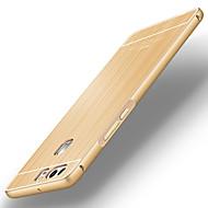 πίσω Σούπερ Λεπτό Culori solide Μεταλλικό Σκληρό metal bumper brushed back cover Case Cover για το Huawei Huawei P9