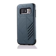 Για Samsung Galaxy S7 Edge Ανθεκτική σε πτώσεις / Ανάγλυφη tok Πίσω Κάλυμμα tok Πανοπλία Σκληρή Σιλικόνη SamsungS7 edge / S7 / S6 edge