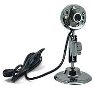 USB 2.0 de alta definición cámara web 12m CMOS 1024x768 30fps con micrófono