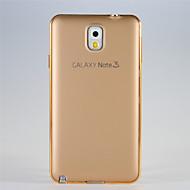 För Samsung Galaxy Note Stötsäker fodral Skal fodral Enfärgat Metall för Samsung Note 3