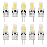 1W G4 Luci LED Bi-pin T 6 SMD 5733 80 lm Bianco caldo / Luce fredda Decorativo DC 12 V 10 pezzi
