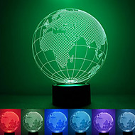 Globe Creative Colorful USB 3D Led Night Light