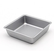 4-Inch Square Cake Bread Pudding Cup Mold Children Die Of Carbon Steel Non-Stick Pan FDA Food Grade