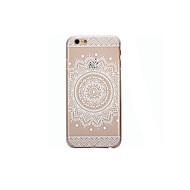 Back Cover Transparent / Pattern Mandala TPU Soft Case Cover For Apple iPhone SE/5s/5