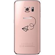Για Samsung Galaxy S7 Edge Διαφανής / Με σχέδια tok Πίσω Κάλυμμα tok Κινούμενα σχέδια Μαλακή TPU SamsungS7 edge / S7 / S6 edge plus / S6