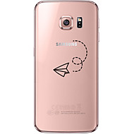 For Samsung Galaxy S7 Edge Transparent / Mønster Etui Bagcover Etui Tegneserie Blødt TPU SamsungS7 edge / S7 / S6 edge plus / S6 edge /