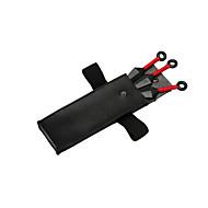 Broń / Torba Zainspirowany przez Naruto Naruto Uzumaki Anime Akcesoria do Cosplay Černá ABS / Kožené
