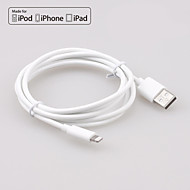 yellowknife® Apple MFI Lightning 8Pin Sync and Charger USB Round Cable for iphone6/5S/ipad(200cm)