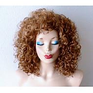 Vrouw Synthetische pruiken Krullend Donkere wortels Natuurlijke haarlijn Black Pruik Halloween Pruik Carnaval Pruik Kostuumpruiken