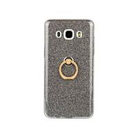 Na Samsung Galaxy Etui Uchwyt pierścieniowy Kılıf Etui na tył Kılıf Brokat Miękkie TPU Samsung J7 (2016) / J5 (2016) / J3 / J3 (2016)