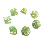 Exquisite Acrylic Dice (7 PCS)