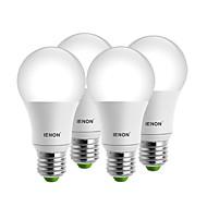 7W E26/E27 Lampadine globo LED A60(A19) 1 COB 560-630 lm Bianco caldo / Luce fredda Decorativo AC 100-240 V 4 pezzi